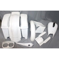 Harley Davidson Custom Road Glide Bagger Body Kit
