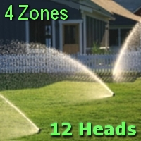 Brand New Big-Lawn Sprinkler System Kit