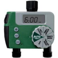 Brand New 1-Dial 2-Port Sprinkler Timer