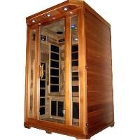 Victorian 1 - 2  Person FIR Infrared Carbon Fiber Sauna - With Red Cedar