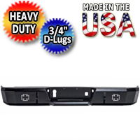 Iron Cross HD Base Rear Bumper - IRO21