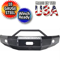 Iron Cross HD Push Bar Front Bumper - IRO22