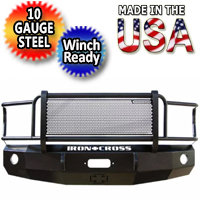 Iron Cross HD Grille Guard Front Bumper - IRO24
