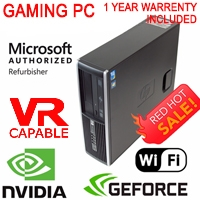 HP Gaming Computer PC Windows 10 GT 1030 HDMI WiFi QC i5 3.2Ghz 8GB/16GB 1Tb SSD