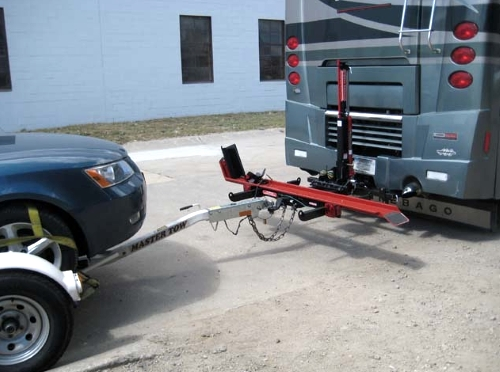 1000lb Rv Motorcycle Carrier Diesel Pusher Manual Hydraulic Lift