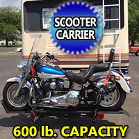 600LB Dirt Bike Motorcycle Scooter Carrier Lift
