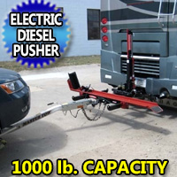 1000LB RV Motorcycle Carrier Diesel Pusher Electric Hydraulic Lift