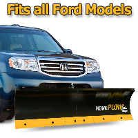 Meyer Home Plow Basic Manual Lift Snowplow - Fits All Ford Models