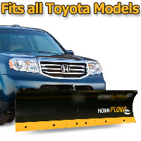 Meyer Home Plow Basic Manual Lift Snowplow - Fits All Toyota Models