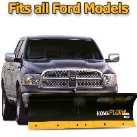 Meyer Home Plow Basic Electric Lift Snowplow - Fits All Ford Models