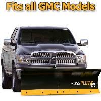 Meyer Home Plow Basic Electric Lift Snowplow - Fits All GMC Models
