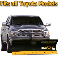 Meyer Home Plow Basic Electric Lift Snowplow - Fits All Toyota Models