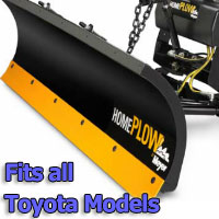 Meyer Home Plow Snow Plow - Hydraulic - Power Angling