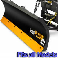Meyer Home Plow Hydraulically-Powered Lift w/Both Wireless & Wired Controllers - Auto-Angle Snow Plow - Fits All Models
