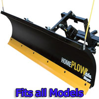 Meyer Home Plow Hydraulic Snowplow Power-Angling, 7ft. 6in. - Fits All Models