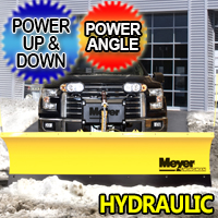 Meyer Wingman Hydraulic Commercial Grade Snow Plow