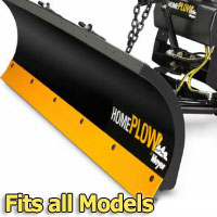 Meyer Home Plow Snow Plow - Hydraulic - Power Angling - Fits all Models