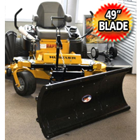 "Nordic 49"" Universal Mount Zero Turn Snow Plow"