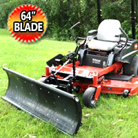 "Nordic 64"" Universal Mount Zero Turn Snow Plow"