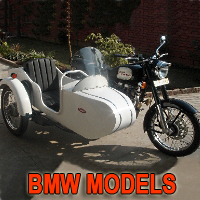 Bemer Side Car Motorcycle Sidecar Kit - Fits BMW Models
