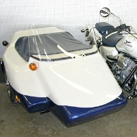 Kenna Double Side Car Motorcycle Sidecar Kit - Fits All Models