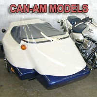 Kenna Double Side Car Motorcycle Sidecar Kit