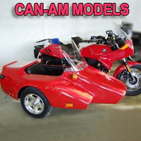 Kenna Single Side Car Motorcycle Sidecar Kit