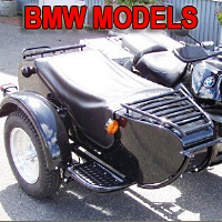 M72D Single Side Car Motorcycle Sidecar Kit - Fits All BMW Models