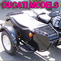 M72D Single Side Car Motorcycle Sidecar Kit - Fits All Ducati Models