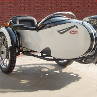 Retro Side Car Motorcycle Sidecar Kit - Fits All Models