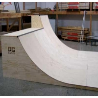12 Foot Wide Half Pipe Skateboard Ramp