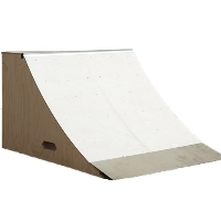 3 Foot Wide Quarter Pipe Ramp