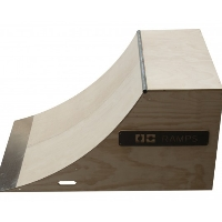 4 Foot Wide Quarter Pipe Ramp