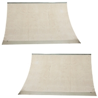8 Foot Wide Quarter Pipe Ramp - 2pk
