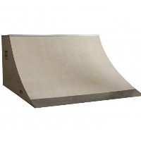 8 Foot Wide Quarter Pipe Ramp