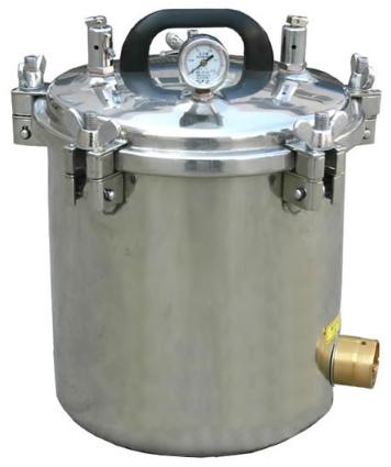 High Pressure Sterilizer Autoclave 8L 8 liter Portable Electric Autoclave