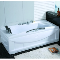 Brand New 1 Person Jetted Whirlpool Massage Hydrotherapy Bathtub Indoor Tub