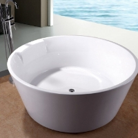 Brand New 5' Japanese Style Soaking Soaker Bath Tub Bathtub w/ Floor Faucet