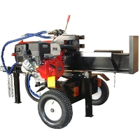 45 Ton Hydraulic DIESEL 13HP Motor Log Wood Splitter Machine + Electric S