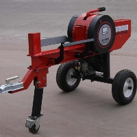 34 Ton RAPID FAST Flywheel Gear Driven Gas Log Wood Splitter/Cutter