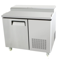"44"" Refrigerated Pizza Salad Prep Table 14 Cu. Ft. Restaurant"