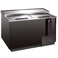 """65"""" Black Bar Beer Bottle Cooler Refrigerator Underbar 17.3 Cu Ft"""