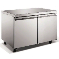 "48"" TUC48R Commercial Stainless Undercounter Refrigerator Cooler"