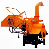 "Brand New 8"" Commercial WC8H PTO Drive Wood Log Chipper Shredder w/ Hydraulic Feed"