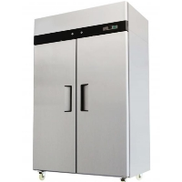 Commercial 49 C.F Double Door Stainless Reach In Refrigerator Cooler