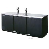 """NEW Black 72"""" Back Bar Cooler Kegerator Beer Dispenser Refrigerator 3 KEGS!"""