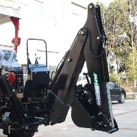 3 Point PTO Driven Hydraulic Backhoe Excavator Attachment - 8600 Model