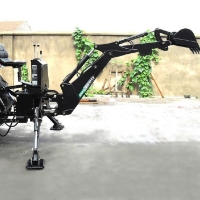 Brand New 3 Point PTO Driven Hydraulic Backhoe Excavator Attachment