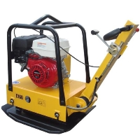 Landscaping Walk Behind Plate Dirt Soil Compactor 6.5HP Honda Motor with Water Tank and Wheel Kit