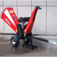 Powerful 15HP Gas Gasoline Powered Wood Chipper Shredder Mulcher w/ Electric Start